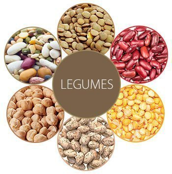 Legumes are rich in protein - a real dieter's friend.