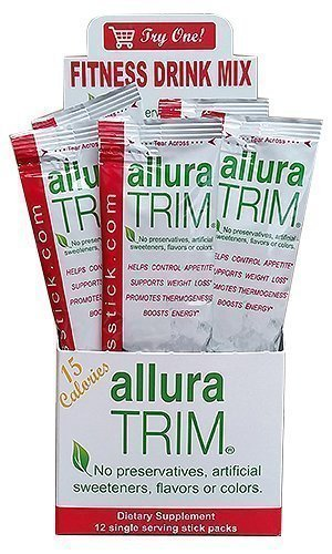 Allura Trim Weight Loss Fitness Drink Mix: low calorie, burn fat, speed up metabolism, lose weight