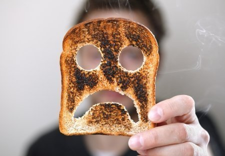Monday is like eaten, burnt toast: sad, dejected, and gross tasting.