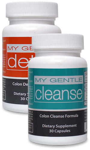 Natural colon cleanse and detox combo for herbal health