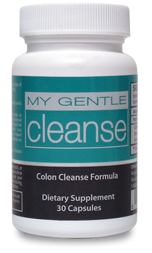 Natural, gentle colon cleanse with herbal ingredients