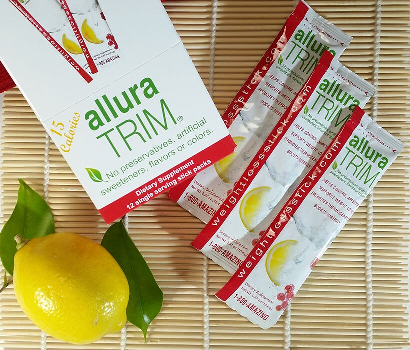Allura Trim Weight Loss Sticks help you maintain healthy weight loss.