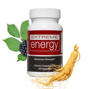 Extreme Energy features 2 prominent ingredients: Ginseng Root and Eleuthero Root.