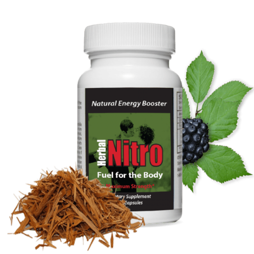 Fuel for the Body natural energy supplement.