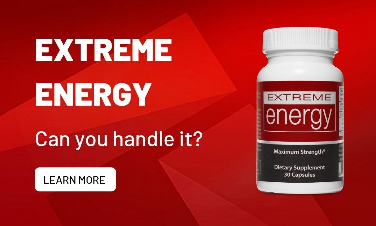 Extreme, all-natural energy.