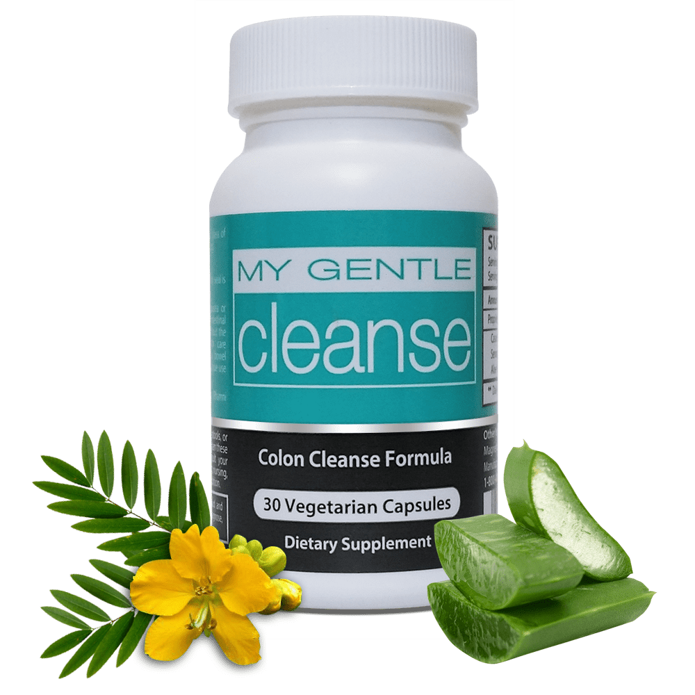 My Gentle Cleanse Natural Colon Cleanse Pills Herbal Nitro
